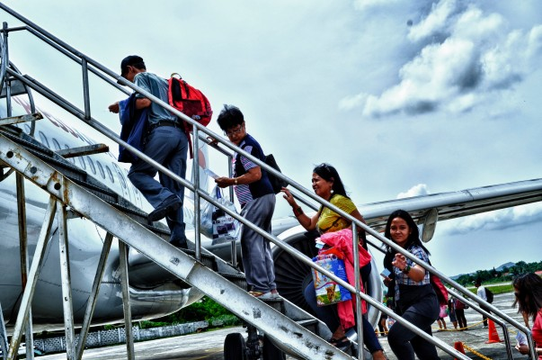 Back to Manila