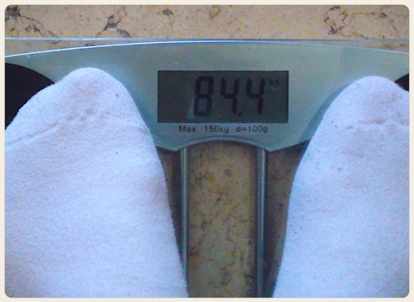 84.4 Kilos