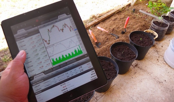 Farming and Currency Trading