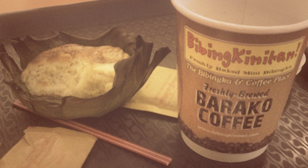 Bibingka and Barako Coffee