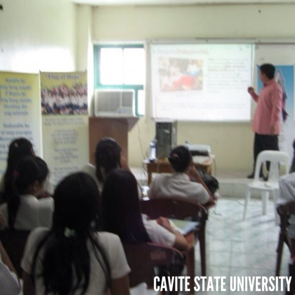 Invited to speak at Cavite State University.  Topic was -- The History and Evolution of the Philippine Flag.