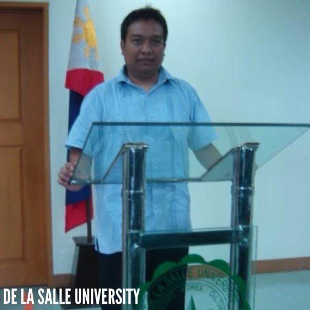 Our organization was invited to speak at De La Salle University.  I was designated to conduct the talk.