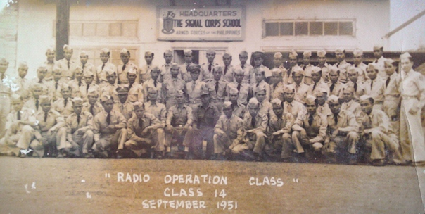 Class 14, The Signal Corps School, Armed Forces of the Philippines, September 1951