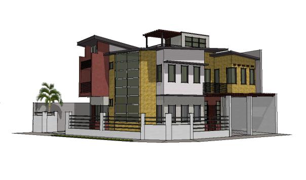 Modern Zen, the final design for construction