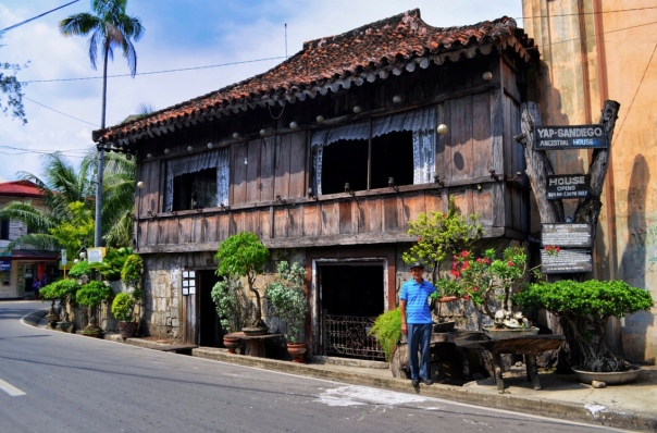 An ancestral house which is said to be one of the oldest houses in the Philippines built in the 17th century.