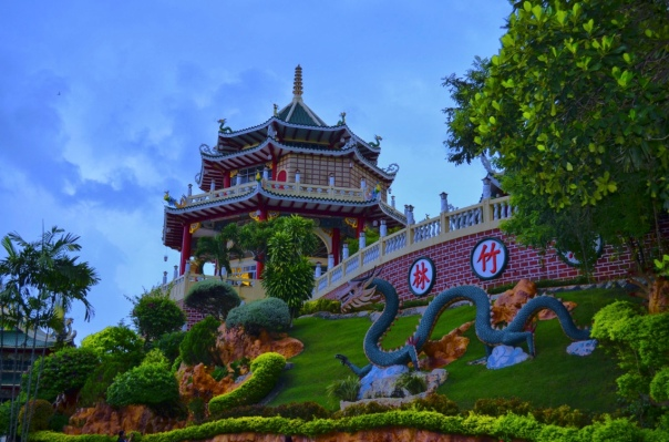 Taoist Temple, built in 1972 at Beverly Hills Subdivision in Cebu